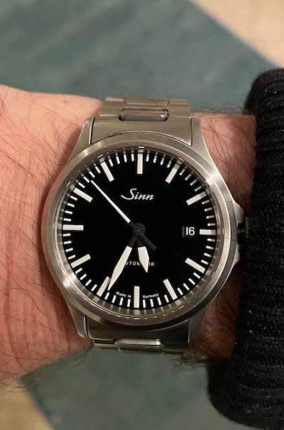Sinn 556 on wrist