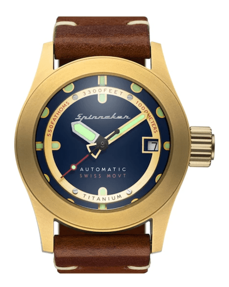 Sprinnaker Piccard - new watch alert to the bottom of the sea (theoretically)
