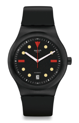 Swatch Sistem51 Hodinkee Generation 1986 naked