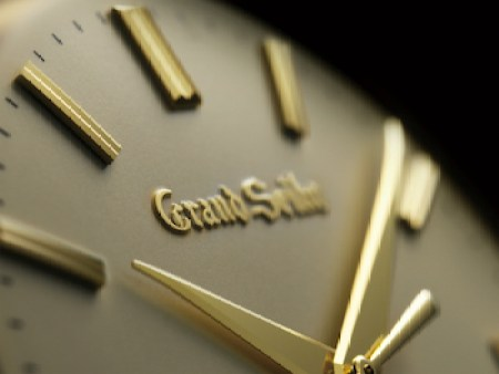 Grand Seiko SBGW258 close-up