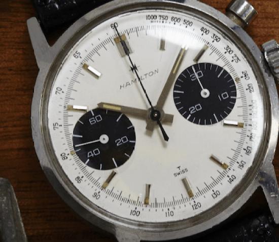 Hamilton Panda Dial Chronograph
