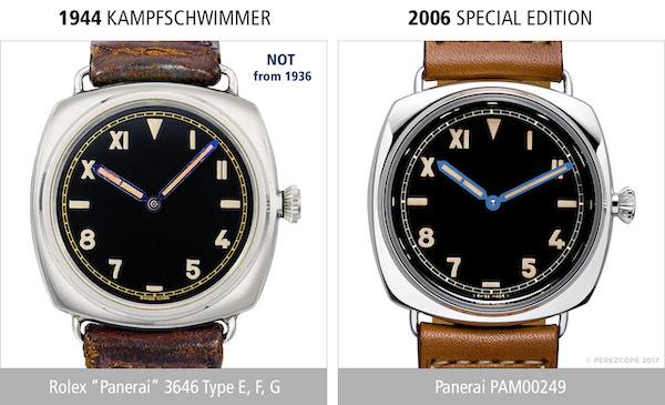 Nazi Rolex Panerai comparison (courtesy perezcope.com)