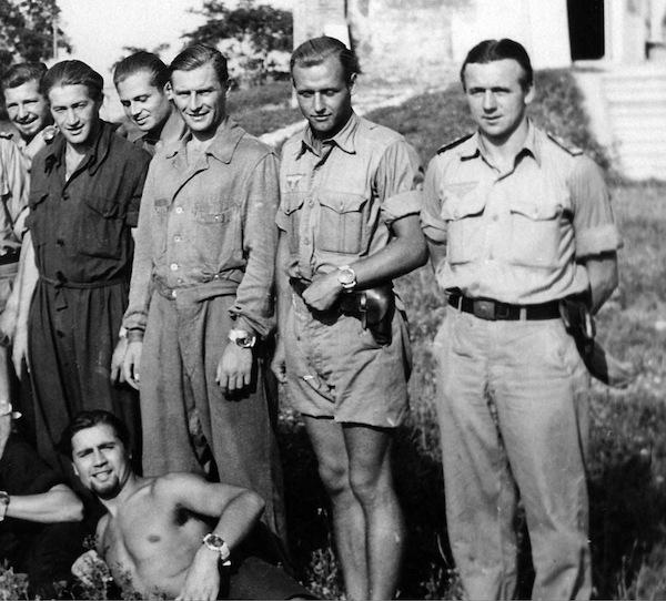 Nazi kampfschwimmer wearing Rolex Panerais