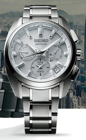 New watch alert: Seiko Astron GPS Solar 5X53 Dual-Time Sport Titanium
