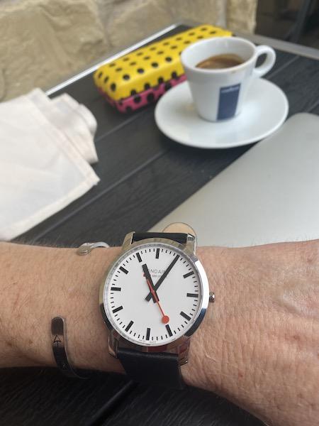 Railways watch wears you