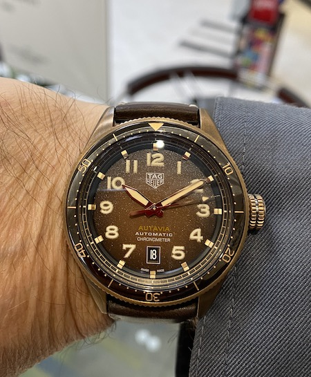 TAG Heuer Autavia bronze - time out?