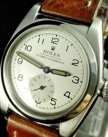 1958 Rolex branded Cuervo Y Sobrinos (courtesy catawiki.com)