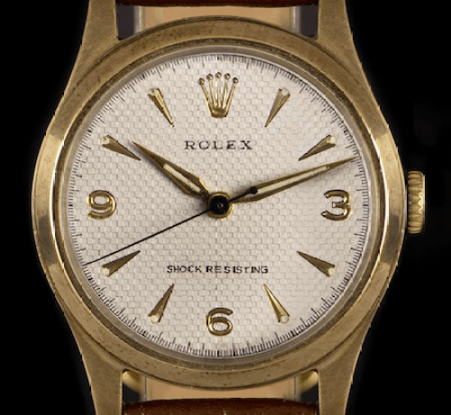 Honeycomb Rolex (courtesy watchcentre.com)