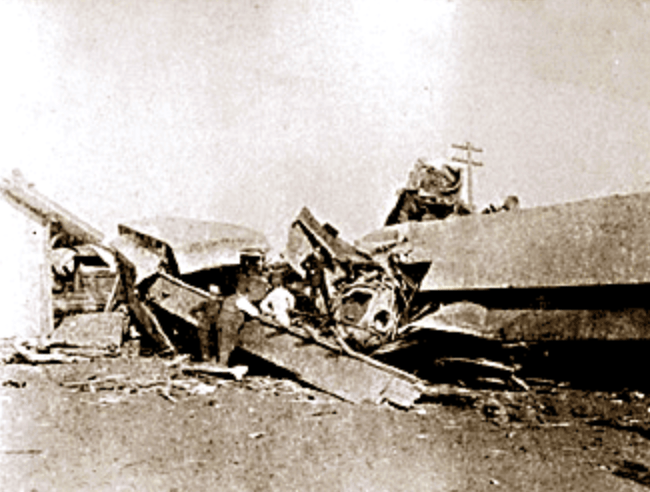Kipton train crash