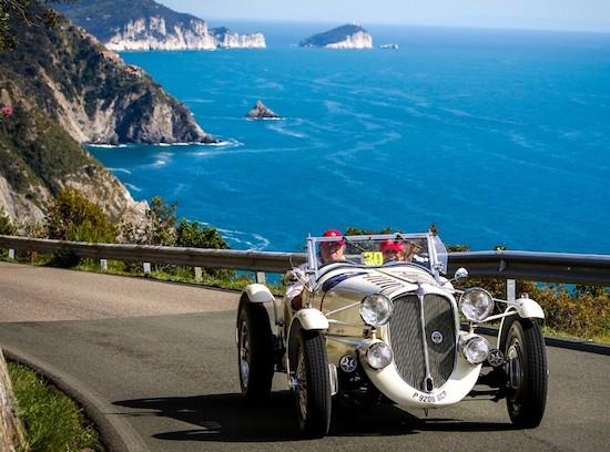 Marzio Villa driving