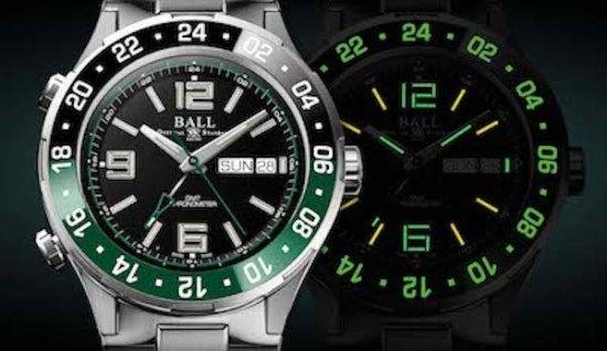 New watch alert Ball watch with tritium