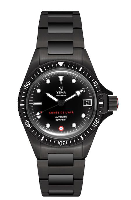New watch alert! YEMA Superman French Air Force