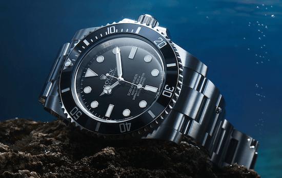 Rolex Submariner - 500m water resistance