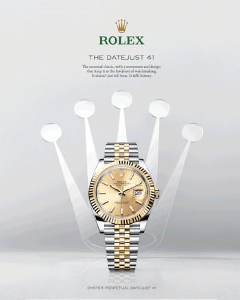 Rolex - a traditional watch industry survivor