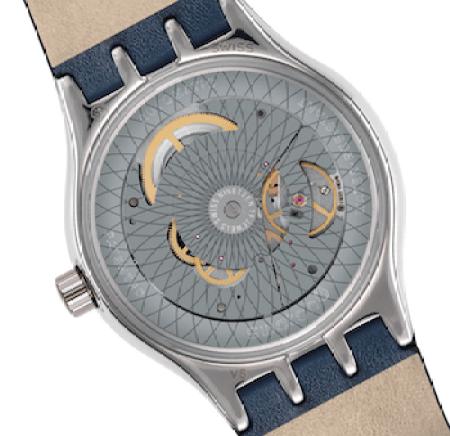 Swatch Sistem51 Petite Seconde caseback