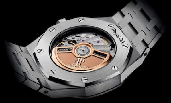 new watch alert! Audemars Piguet Royal Oak Selfwinding 34mm caseback