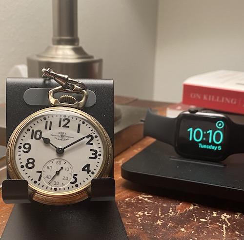 Apple Watch kill a pocket watch