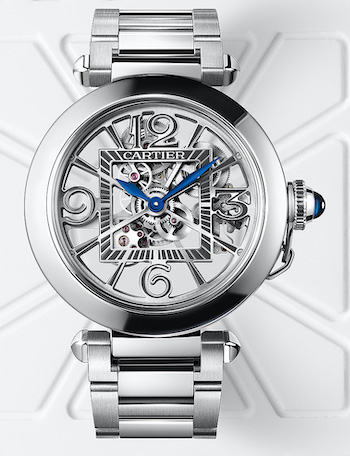 Cartier Pasha skeleton