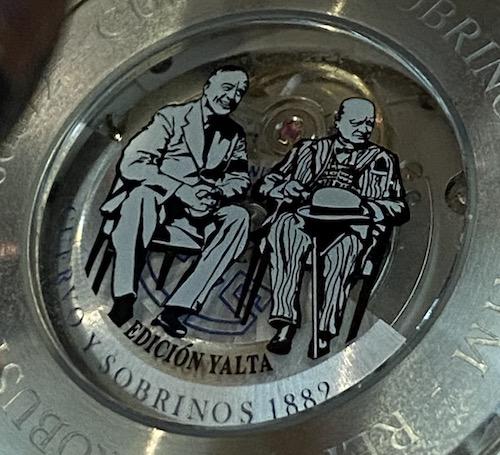 Cuervo Y Sobrinos Robusto Churchill Yalta caseback