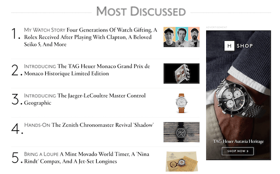 Hodinkee screen grab