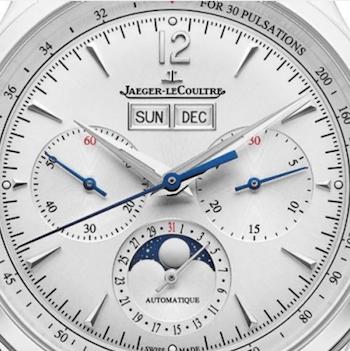 JLC Master Control Chronograph Calendar close-up