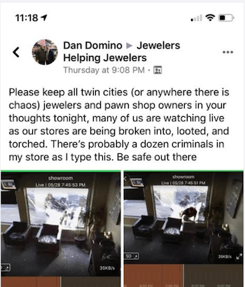 Message to owners