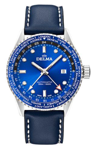 New watch alert! Delma Cayman World Timer