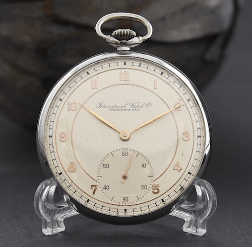 Collect pocket watches - 1943 IWC