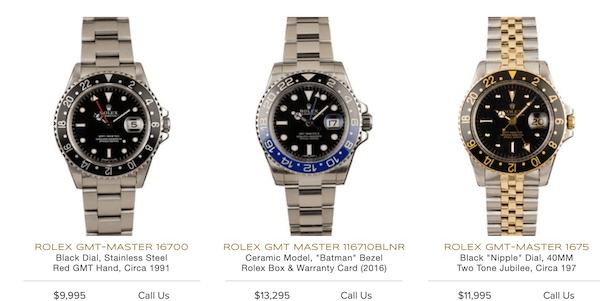 Rolex Batman at Bobs Watches