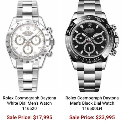 Authentic watches sales
