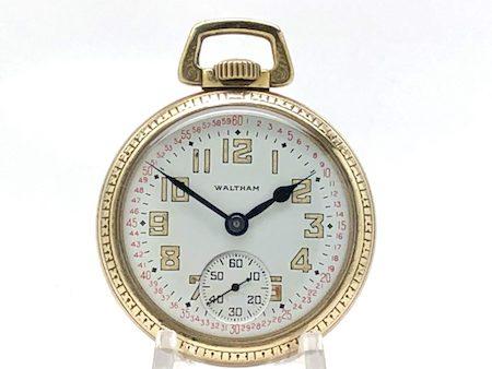 Waltham Military Pocket Watch 21 Jewel Grade Riverside