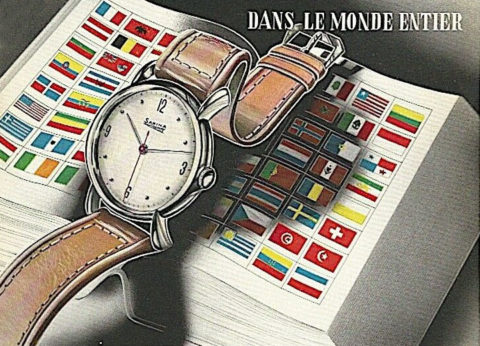 Worldwide watch ad