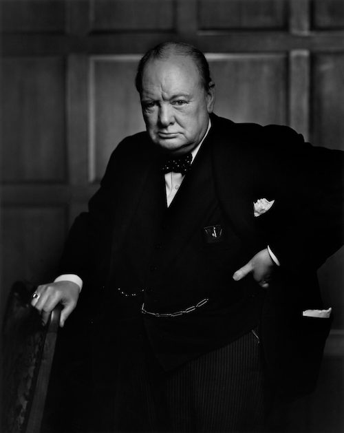Yousuf Karsh Winston Churchill portrait 1941