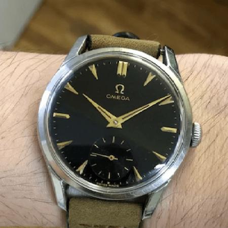 1953 OMEGA Sub-Second
