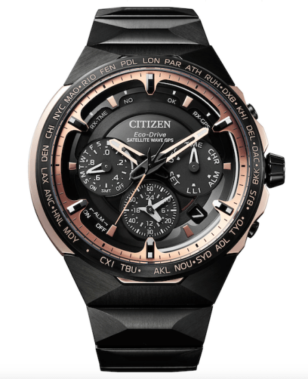 2020 Citizen Satellite Wave GPS F950 Titanium Technology 50th Anniversary Limited Model - new watch alert