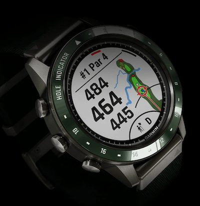 Garmin MARQ Golfer - new watch alert display