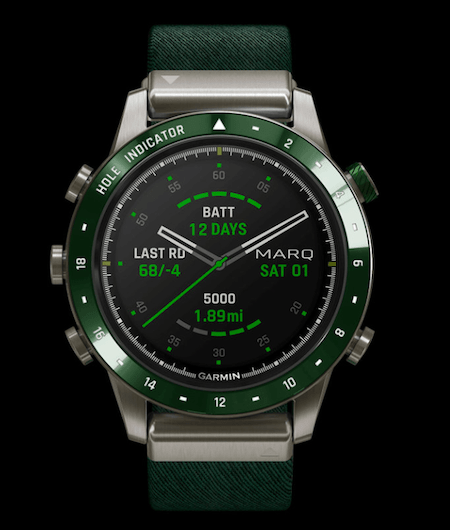 Garmin MARQ Golfer - new watch alert