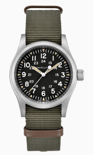 Retro watches: Hamilton Khaki Field Mechanical