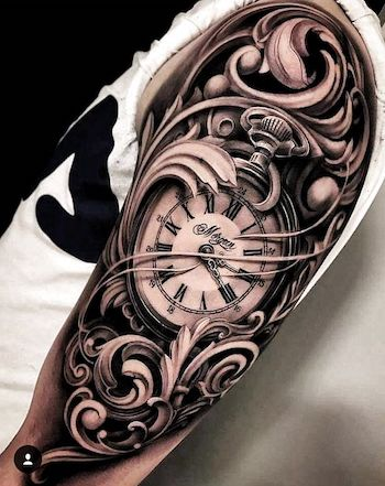 Double Pocket Watch Tattoo : double, pocket, watch, tattoo, Pocket, Watch, Tattoo, Truth, About, Watches