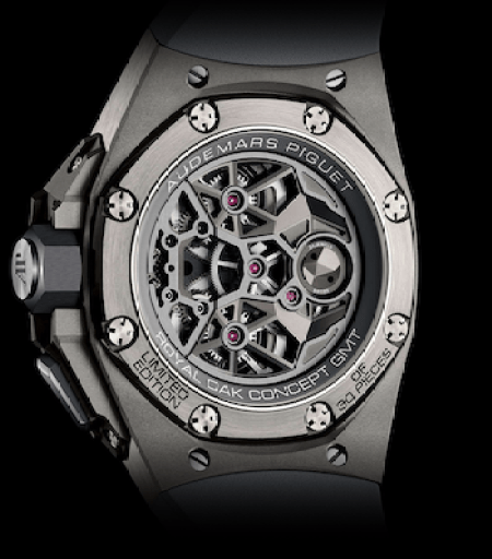 Royal Oak Concept Flying Tourbillon GMT caseback