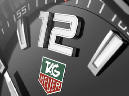 TAG Heuer Formula 1 detail
