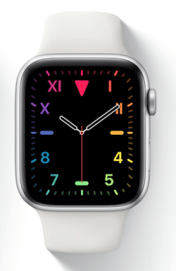 Traditional watch face