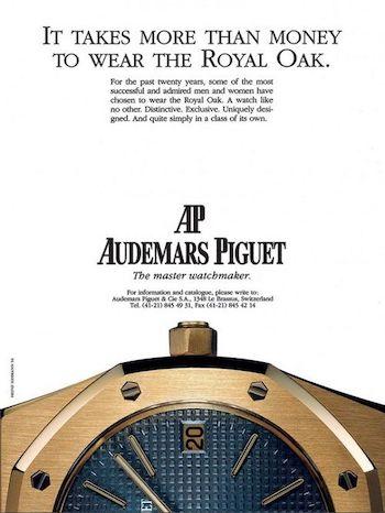 Audemars Piguet ad