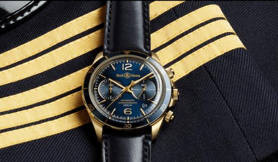 B&R Aeronavale on uniform