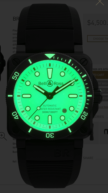 Bell & Ross BR 03-92 DIVER FULL LUME - new watch alert!