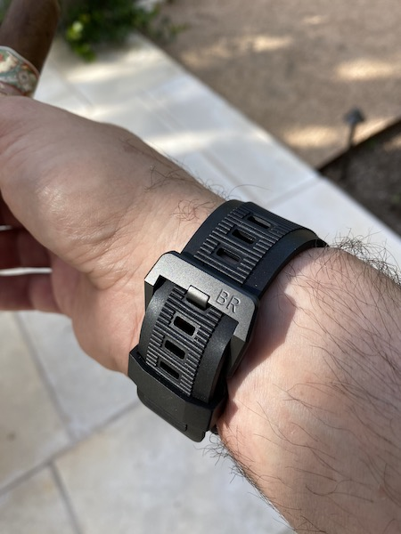 Bell & Ross DIVER FULL LUME rubber strap
