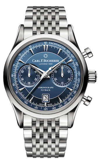 Carl F. Bucherer Manero Flyback Chronograph - new watch alert