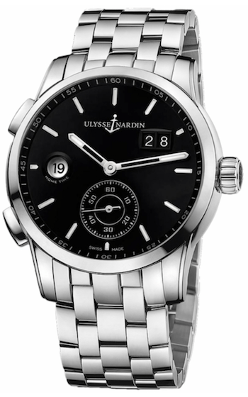 Collectible watches - Ulysse Nardin Dual Time Manufacture