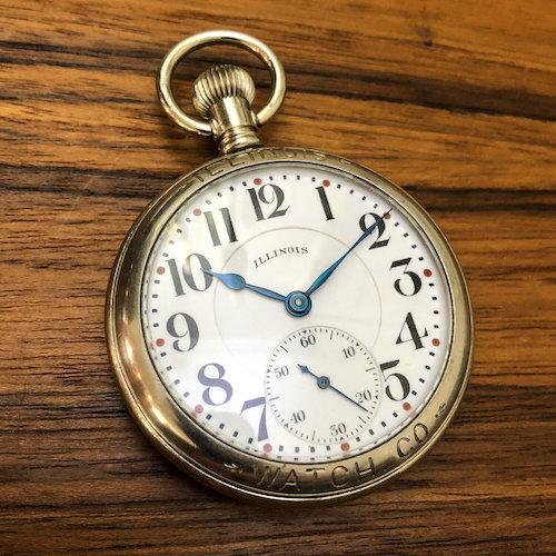 Illinois Central railroad watch 1922