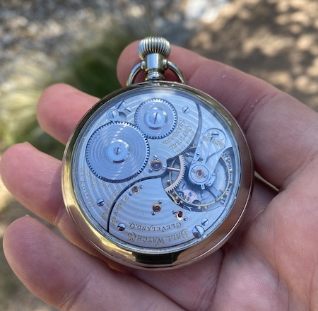 Old Ball watch movement